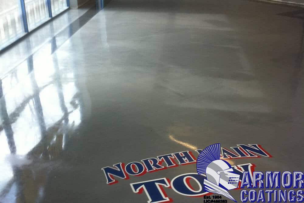 Epoxy garage floor lasts